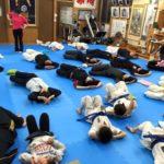 2月13日金曜日に、士道館 大分県支部 徳寿道場にて第一回ヨガ教室がありました。