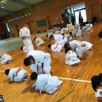 1月29日(日)、士道館大分県支部にて昇級試験が行われました。